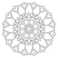 Print And Color Mandalas Online